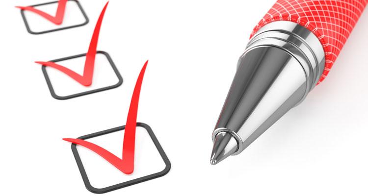 Downloads - Checkliste