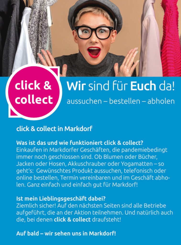 Click & Collect Flyer